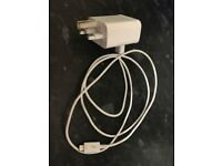 Genuine White Samsung charger