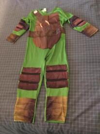 Ninja turtle costume age 3-4