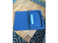 Blue leather kindle cover
