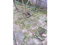 FREE garden slabs paving or hardcore
