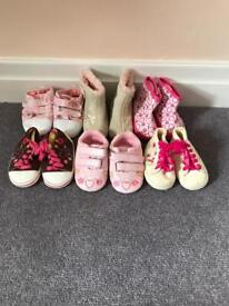 Girls Shoes Age 6-9 months