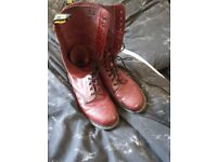 28 hole ox blood doctor martins Size 11
