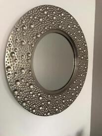 Luna round mirror