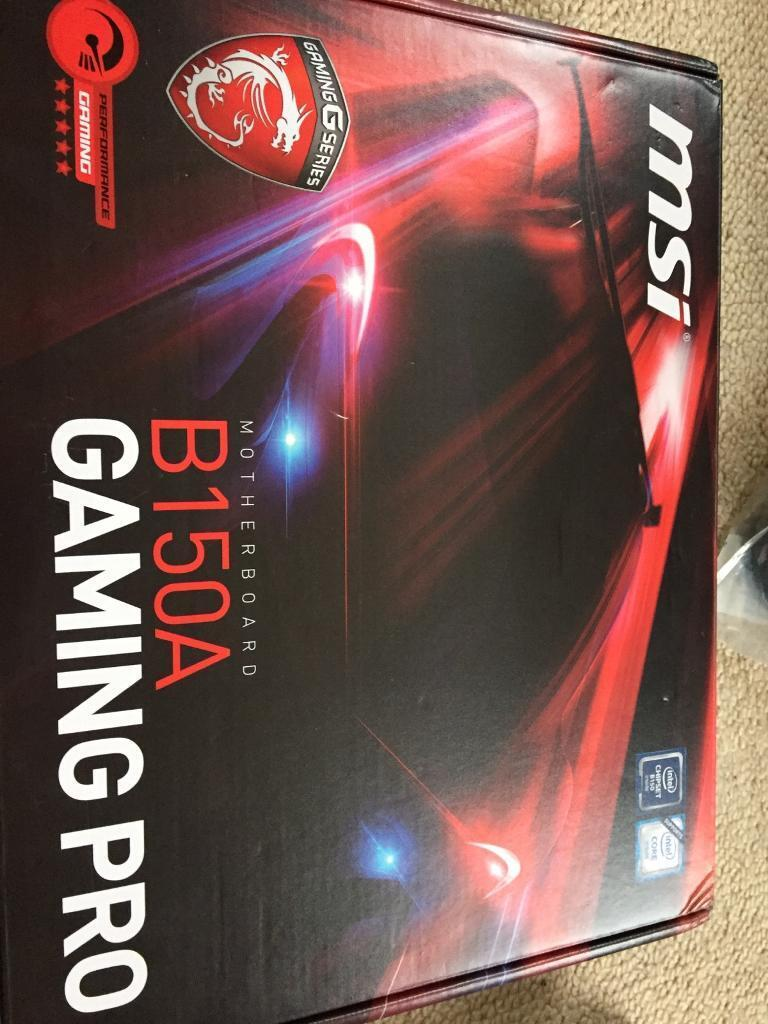 MSI B150A RGB Gaming Motherboard - PRICE REDUCED