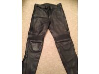 Woman's motorcycle trousers size 18