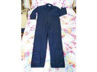 Boiler suit / Overalls - Heavy duty 50 Chest Regular Leg 30 inside - New Old Stock.