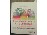Research methods in early childhood and introductory guide Textbook