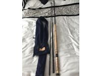 Bruce and Walker salmon fishing rod