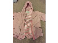 Girls next coat great condition age 3-4