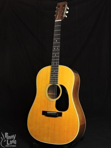 1967 MARTIN D-28S BRAZILIAN ROSEWOOD ACOUSTIC SLOPE-SHOULDER GUITAR WITH CASE