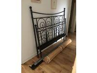 Black King Size Bed Frame