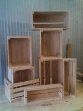 Rustic Wooden Crates- Standard sizes from $30 Burleigh Heads Gold Coast South Preview
