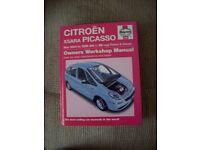 Haynes Workshop Manual Citreon Xsara Picasso 2004-2008 petrol & diesel