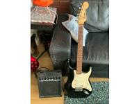 Squier Strat (50 anniversary) and amp for sale - Proceeds goes to Shelter Scotland.
