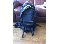60l Caribee Backpack w 20l day pack