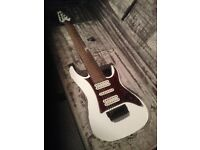 Ibanez TAM-10 8-String guitar with case