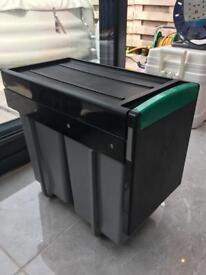 80 litre integrated kitchen bin