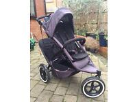 Phill and teds double push chair