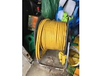 Window cleaning microbore hose