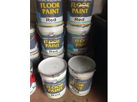 Paint Master Red Floor Paint (20L Drums)