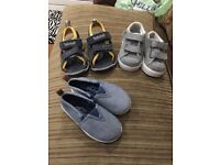 Boys shoes /sandals timberland / Nike trainers and mini rebel 3 for one price