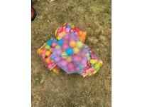 4 bags of plastic ball pit balls