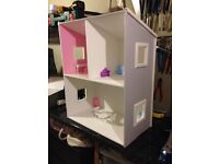 hand made dolls house, nicely made