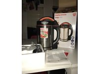 Morphs Richards Soup maker as new in box