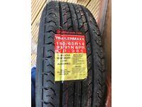 New Caravan Wheel & Tyre - Unused 184x65 radial tyre on rim