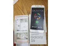 Samsung Galaxy S6 - 32GB - WHITE (Unlocked) Smartphone