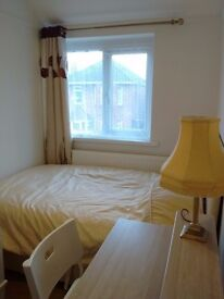 ONE BEDROOM TO SHARE IN A HOME FRONTING LOVELY PARK