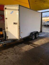 12 x5 Ifor Williams trailer with ramp rear door