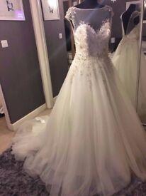 Brand New Wedding Dress (Ex Stock) Size 12 RRP £1295!