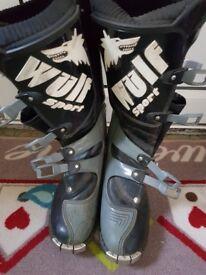 Wulfsport Black boots size Eu 45