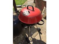 BBQ barbecue grill for charcoal. Dome BBQ