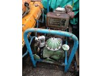 Petter Engine in frame