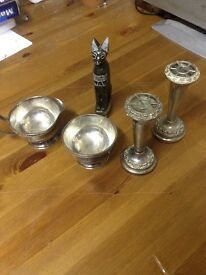 Silver plated set job lot