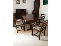 Oak Extending Dining Table ONLY