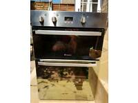 Hotpoint built in electric fan oven