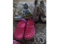 3 x girls shoes size 3