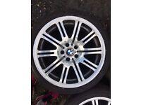 "Bmw e46 m3 5x120 19"" alloy wheels"