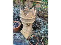 Chimney pot crown style