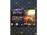 First four Harry Potter PC games