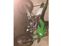125cc pitbike big frame brand new *swaps*bmw*audi*st*