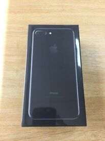 BRAND NEW IPhone 7 Plus jet black 128gb