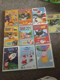 Timmy time / Peppa Pig DVD bundle