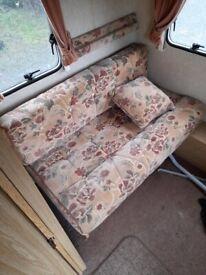 Short caravan seat cushions