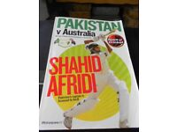 Official Programme of the Pakistan v Australia 200 Years Celebratory Match in 2010