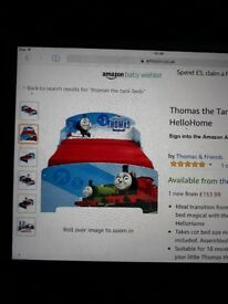 Thomas tank bed and accessories