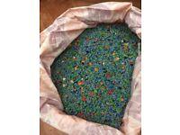 Bag of gravel filled a 2.8ft tank(6kg)